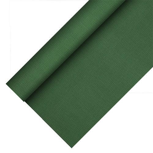 Partytischdecke.de   Tischdecke Soft Selection Plus dunkelgrün 25 lfm x Breite