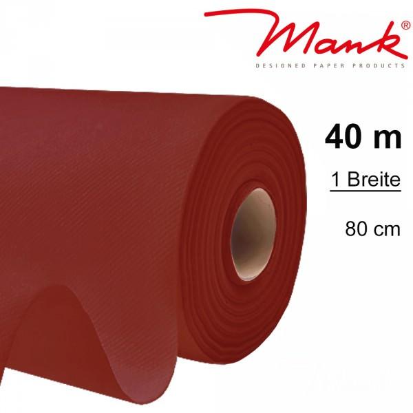 Partytischdecke.de | Tischdecke Mank Linclass 0,80 x 40 m bordeaux