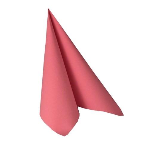 Partytischdecke.de | Serviette 40x40 Royal rosa 20 Stück