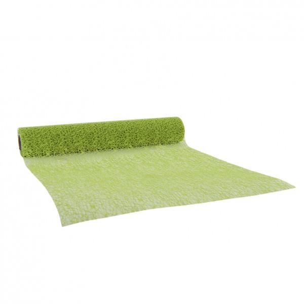 Partytischdecke.de | Netzband apfelgrün 28 cm x 2,5 m 1 Rolle