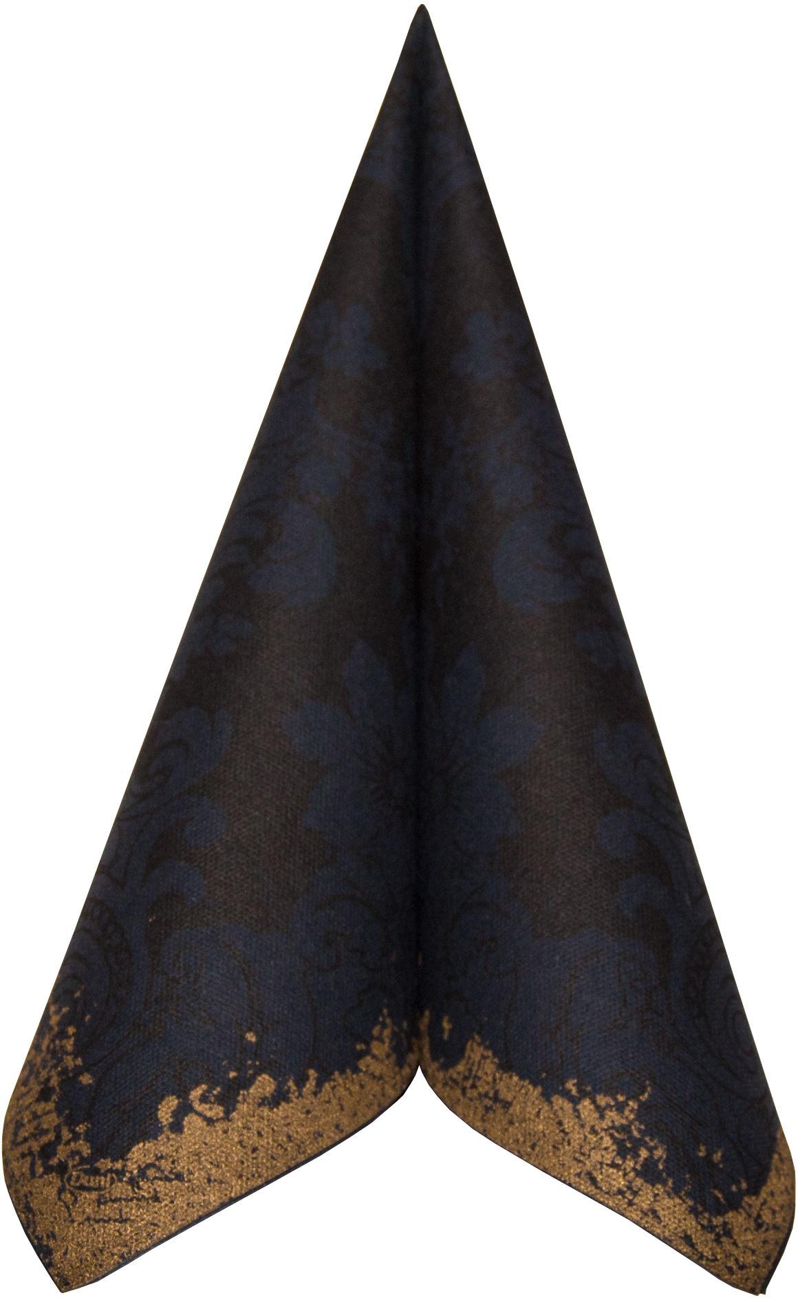 duni serviette dunilin 40x40 royal black in premium qualit t von duni jetzt kaufen. Black Bedroom Furniture Sets. Home Design Ideas