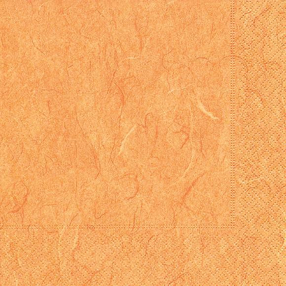 Servietten 33x33 Pure orange 20 Stück