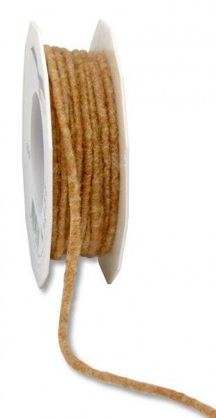 Partytischdecke.de | Wollband Elbe Schurwolle Ø 5 mm x 15 m natur