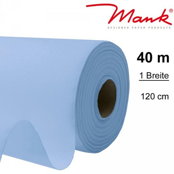 Partytischdecke.de | Tischdecke Mank Linclass 1,20 x 40 m hellblau