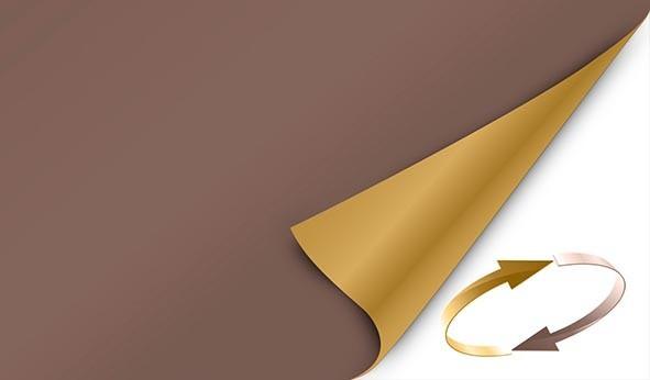 Mitteldecke 84 x 84 cm Duni Dunicel chestnut / honey 20 Stück