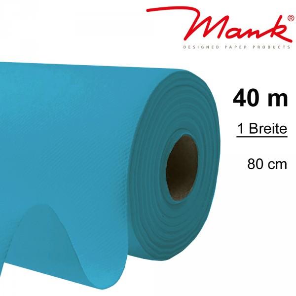 Partytischdecke.de | Tischdecke Mank Linclass 0,80 x 40 m aqua blau