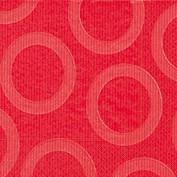 Partytischdecke.de | Servietten 25x25 Circle red 20 Stück
