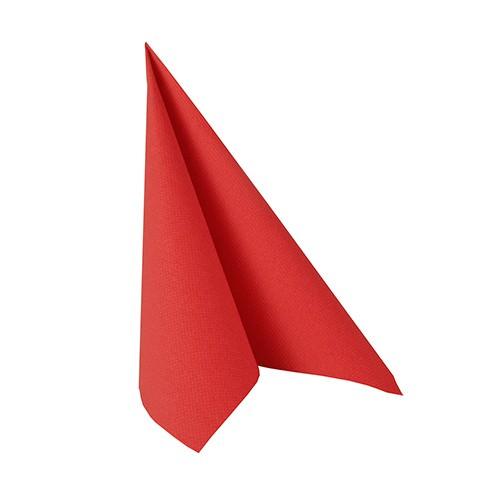 Partytischdecke.de | Serviette 25x25 Royal rot 50 Stück