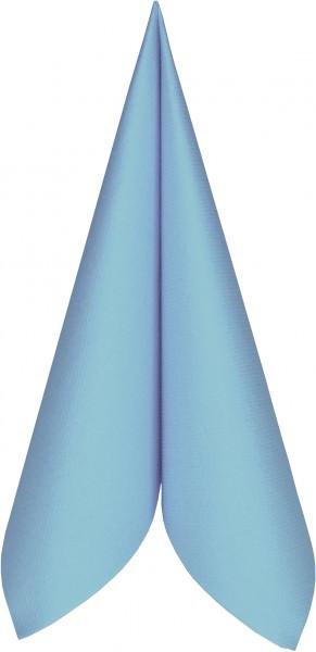Partytischdecke.de | Serviette Mank Linclass 25x25 hellblau 250 Stück