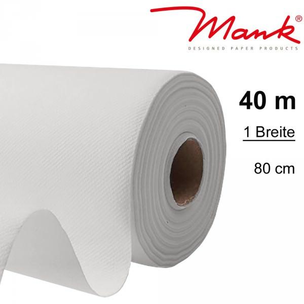 Partytischdecke.de | Tischdecke Mank Linclass 0,80 x 40 m weiss