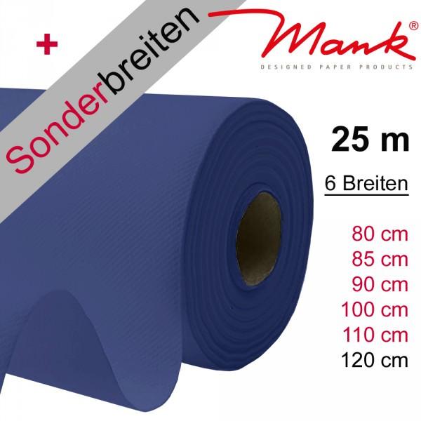 Partytischdecke.de | Tischdecke Mank Linclass royalblau 25 m x Breite