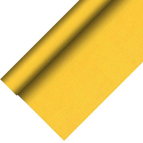 Partytischdecke.de | Tischdecke bio 1,18 x 20 m Royal-Collection-Plus gelb 1 Rolle