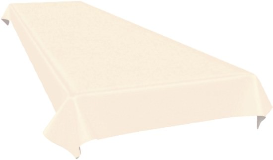 Partytischdecke.de   Duni Tischdecke Dunicel 118 x 160 cm cream