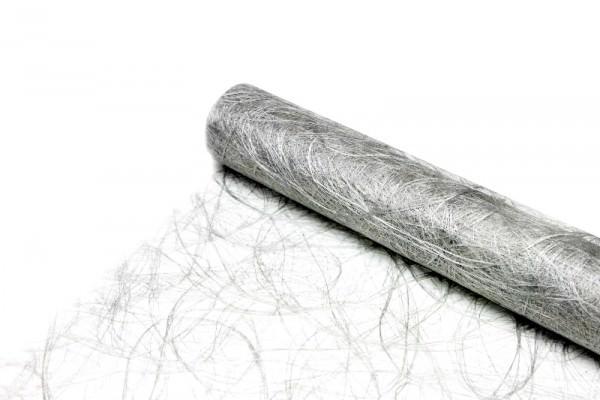 Partytischdecke.de | Sizoweb silber Vorteils-Rolle à 25 m x Breite