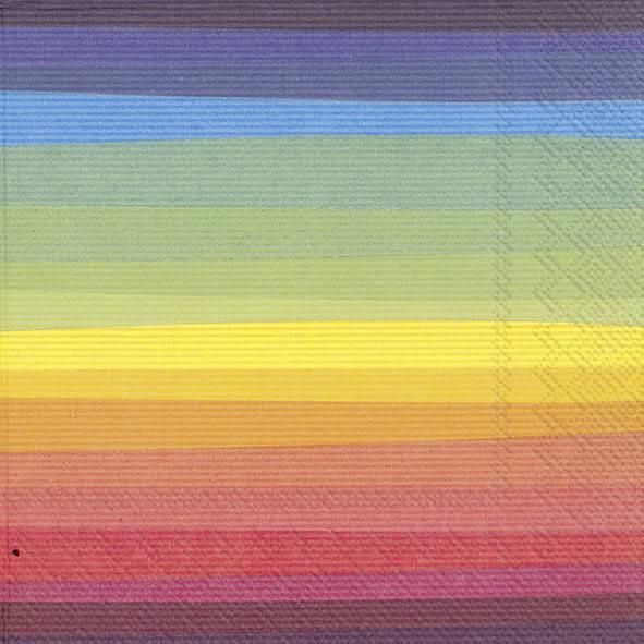 Partytischdecke.de | IHR Servietten 33 x 33 Colourful Day