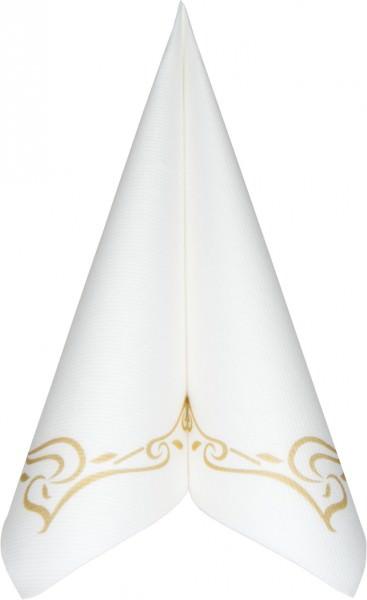 Partytischdecke.de | Serviette Mank Linclass Colour Line 40x40 gold