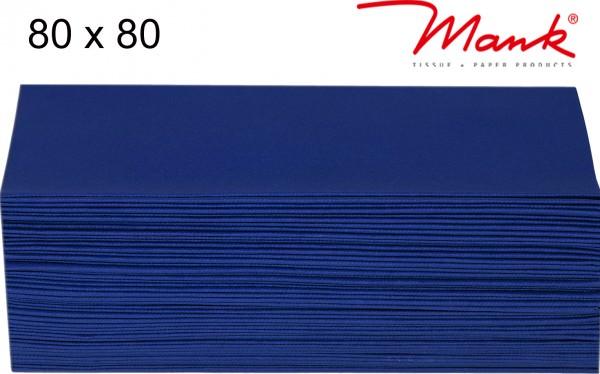 Partytischdecke.de | Mitteldecke 80 x 80 cm Mank Linclass royalblau