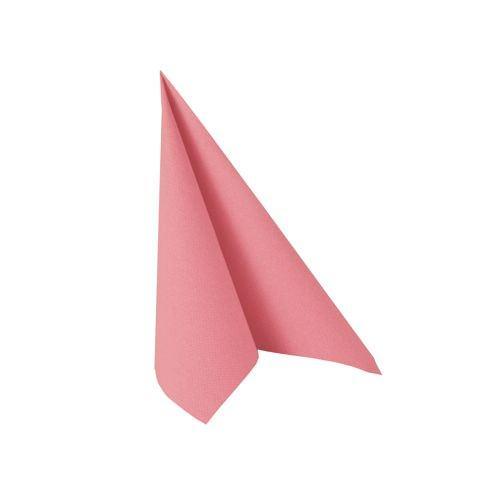 Partytischdecke.de | Serviette 25x25 Royal rosa 20 Stück