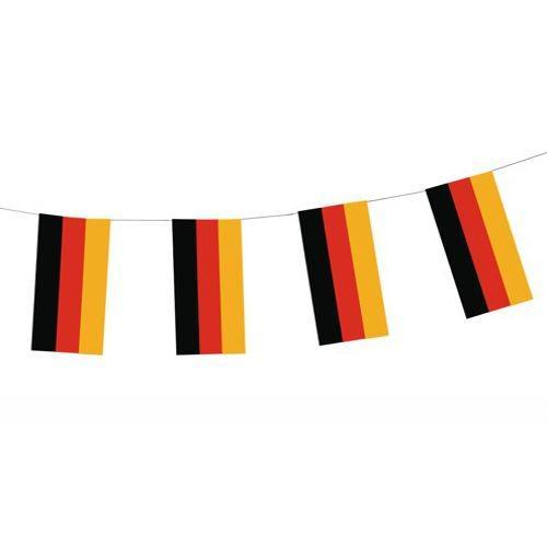 Partytischdecke.de | Flaggenkette Papier 4 m Deutschland