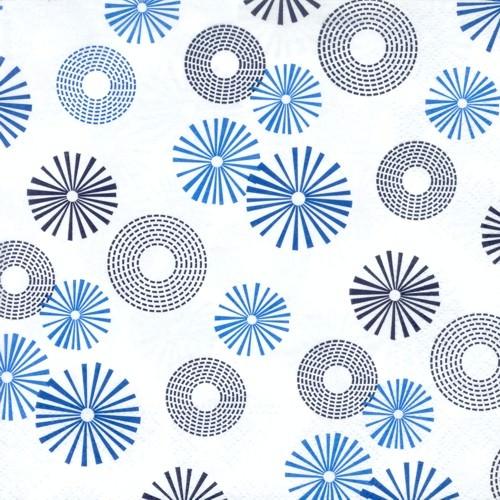 Partytischdecke.de | Serviette 33x33 | Twister | 20 Stück