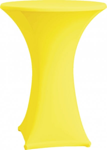 Stehtischhusse Strech Ø 70 gelb 1 Stück