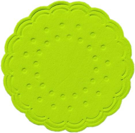 Partytischdecke.de | Duni Tassendeckchen Ø 7,5 cm kiwi