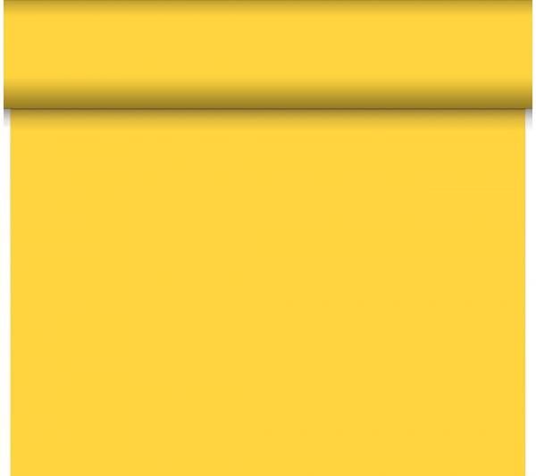 Tischläufer Duni Dunicel Tête-à-Tête 0,40 x 24 m gelb