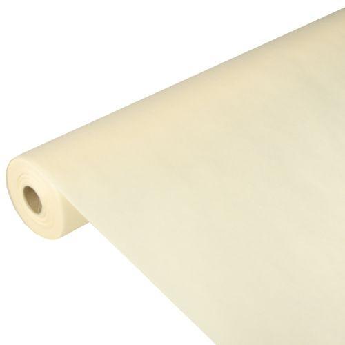 Partytischdecke.de | PP-Vlies Tischdecke Soft Selection 40 m x 1,18 m creme