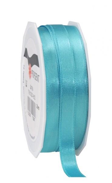Partytischdecke.de | Satin Premium Band 10 mm x 25 m türkis