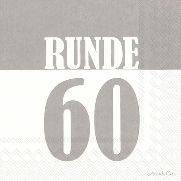 Partytischdecke.de | IHR Serviette 33x33 Runde 60