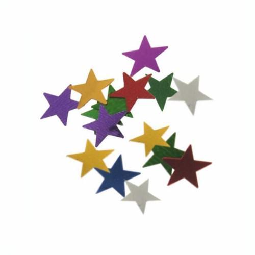 Partytischdecke.de | Deko-Streuschmuck Stars Ø 1 cm farbig sortiert 20 g Beutel