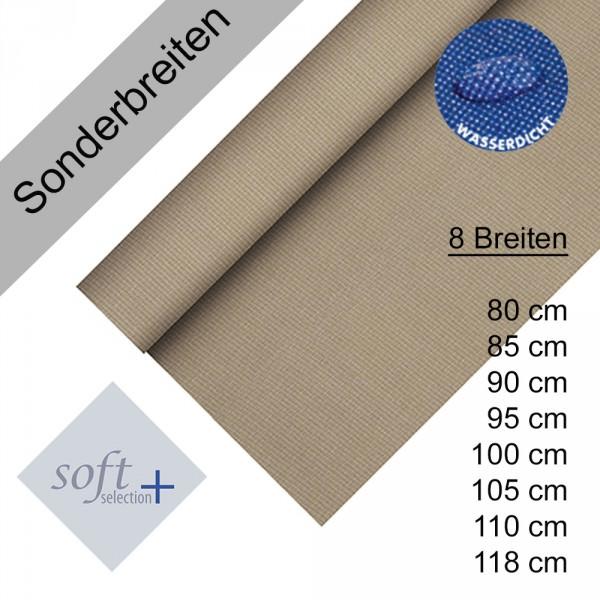 Partytischdecke.de | Tischdecke Soft Selection Plus taupe Auswahl