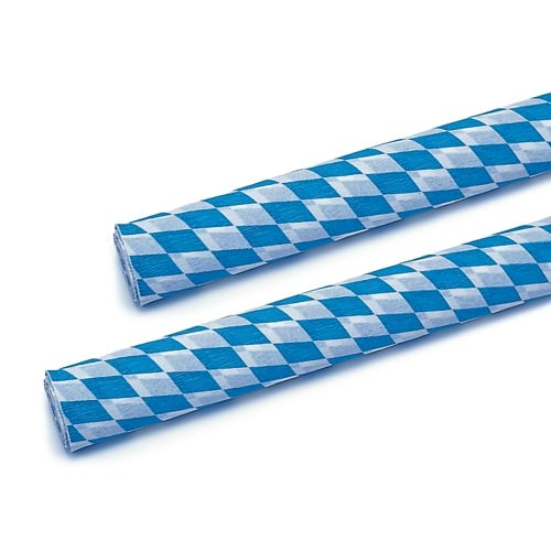 Partytischdecke.de   Krepp-Band 0,15 x 10 m Bayerisch Blau 1 Rolle