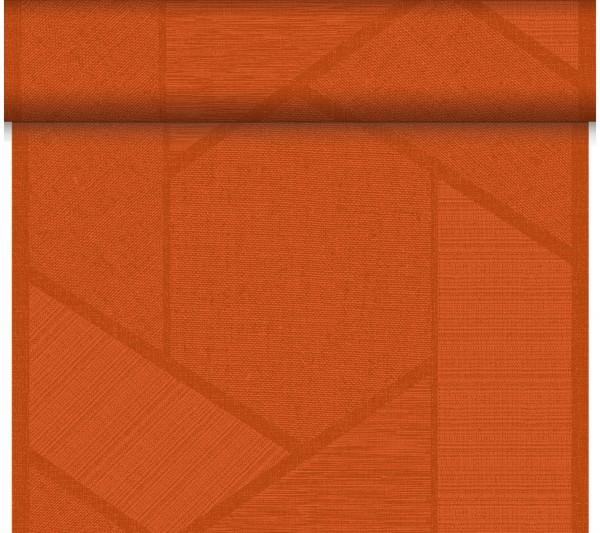 Partytischdecke.de | Duni Tischläufer 40 cm x 24 m Dunicel Elwin Mandarin