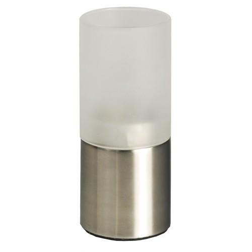 Partytischdecke.de | Kerzenhalter, Edelstahl Ø 5 cm 12 cm für Teelichte 1 Stück