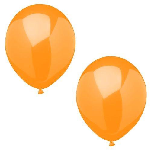 Partytischdecke.de | Luftballons Ø 25 cm orange 10 Stk