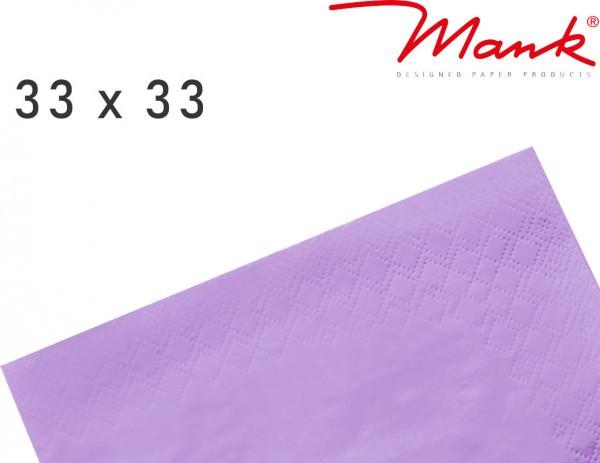 Partytischdecke.de | Serviette Mank 33x33 Tissue flieder