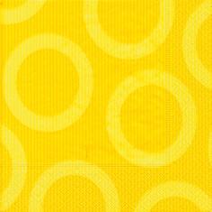 Partytischdecke.de | Servietten 40x40 Circle yellow 20 Stück