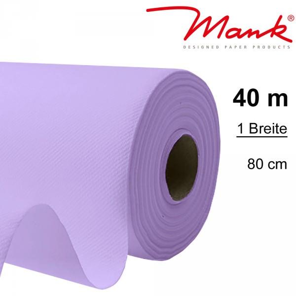 Partytischdecke.de | Tischdecke Mank Linclass 0,80 x 40 m flieder