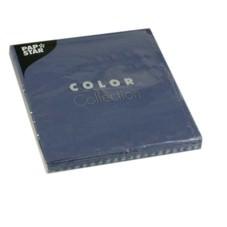 Partytischdecke.de | Servietten 33x33 Color dunkelblau 20 Stück 3-lagig