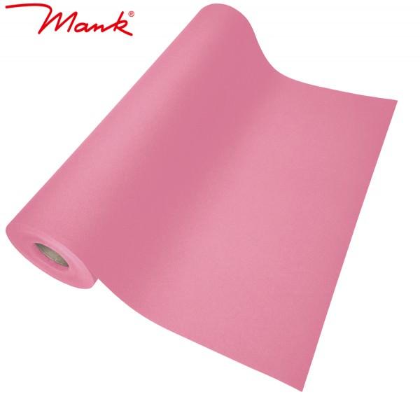 Partytischdecke.de | Tischläufer Mank Linclass 40 cm x 24 m rosa