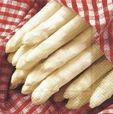 Partytischdecke.de | Servietten 33x33 Fresh Asparagus 20 Stück
