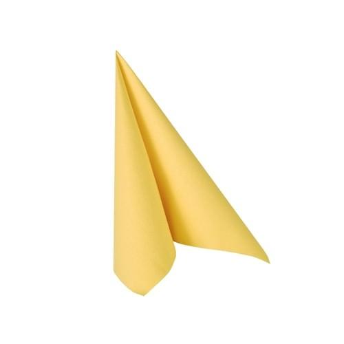 Partytischdecke.de | Serviette 25x25 Royal gelb 20 Stück