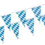 Partytischdecke.de | Wimpelkette, Folie 4 m Bavaria 1 Stück