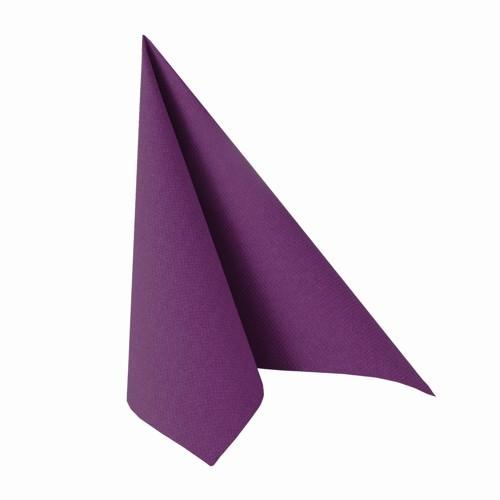Partytischdecke.de | Serviette Papstar Royal 40x40 lila 20 Stück