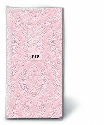 Motiv Taschentücher Päckchen Moments ornament pastellpink 10 Stück