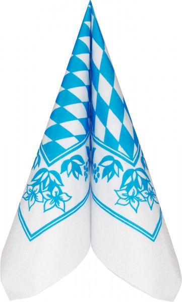 Duni Serviette Tissue 33x33 Bayerische Raute 250 Stück