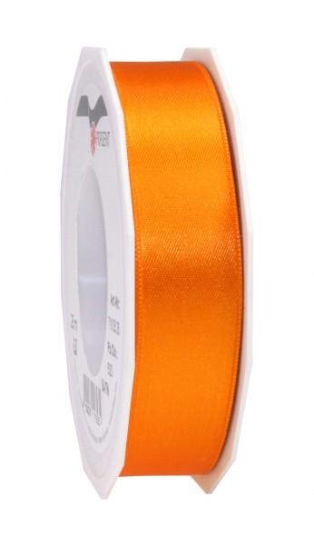 Partytischdecke,de | Satin Premium Band 25 mm x 25 m orange