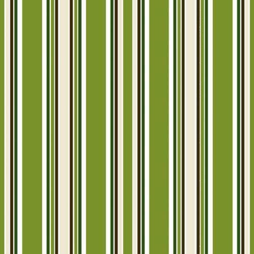 Partytischdecke.de | Serviette 33x33 | Stripes grün | 30 Stück
