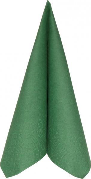 Partytischdecke.de | Duni Serviette Tissue 40x40 dunkelgrün 250er
